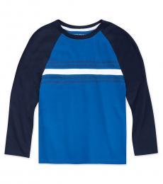 Calvin Klein Boys Forever Blue Colorblock T-Shirt
