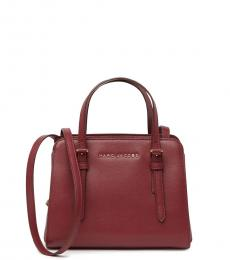 Marc Jacobs Mulled Cherry Little Big Shot Small Satchel