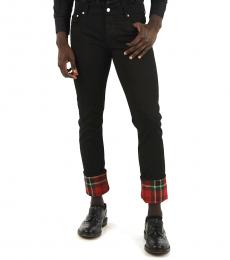 Alexander McQueen Black Regular Fit Jeans