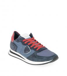 Philippe Model Blue Sporty TRPX Sneakers