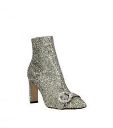 Gold Hanover Glitter Booties