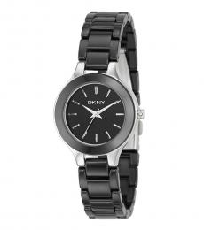 DKNY Black Logo Watch
