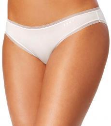 DKNY Vanilla Low-Rise Bikini Underwear