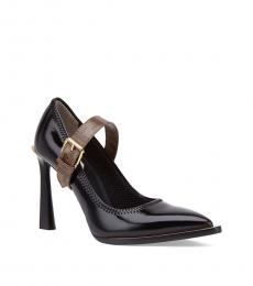 Fendi Black Patent Leather Heels