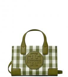 Tory Burch Olive Ella Mini Crossbody Bag