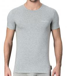 Grey 2 Pack Logo T-Shirt
