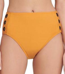 DKNY Golden Oak Grommet Bikini Bottom