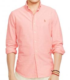 Pink Classic Fit Oxford Shirt