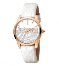 Just Cavalli White Stylish Watch