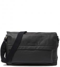 Cole Haan Black Slouchy Large Messenger Bag