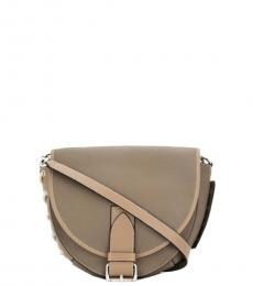Beige Bike Large Crossbody