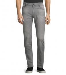 Diesel Black Thommer Slim-Fit Jeans
