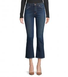 AG Adriano Goldschmied 8 Years Blue High-Rise Slim Jeans