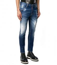 Dsquared2 Dark Blue True Artist Club Jeans