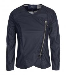 Armani Jeans Blue Tailored Cut Jacket