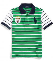 Ralph Lauren Little Boys Golf Green Big Pony Crest Polo