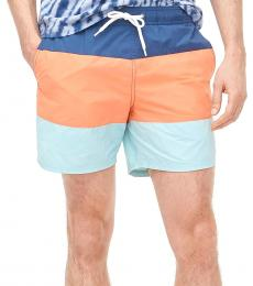 J.Crew Multicolor Colorblock Swim Trunk