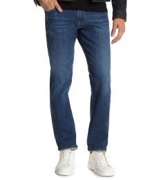 AG Adriano Goldschmied Dark Blue Tellis Slim Fit Jeans