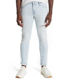 AG Adriano Goldschmied Light Blue Dylan Skinny Jeans