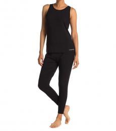 Calvin Klein Black Tank & Joggers 2-Piece Pajama Set