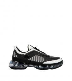 Prada Black White Cloudbust Sneakers