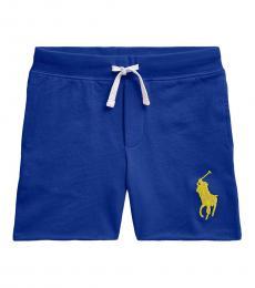 Ralph Lauren Boys Sapphire Star Pony Pull-on Shorts