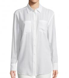 AG Adriano Goldschmied True White Hartley Collared Shirt