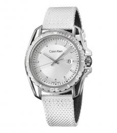 White Striking Earth Watch