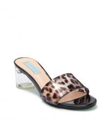 Betsey Johnson Leopard Print SB Alani Heels