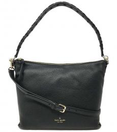 Kate Spade Black Alena Forrest Road Large Hobo