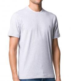 Brunello Cucinelli Light Grey Sport Jersey T-Shirt