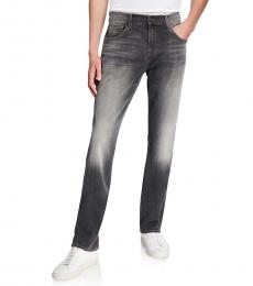 7 For All Mankind Grey The Straight Jeans