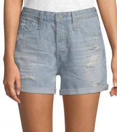 21 Years Cut-Off Denim Shorts