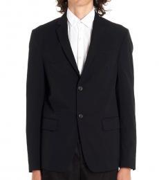 Black Techno Twill Jacket