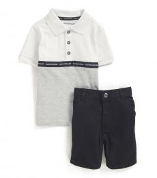 Calvin Klein 2 Piece Polo/Shorts Set (Baby Boys)