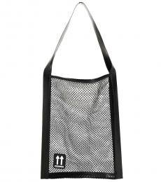Off-White Black Fishing Net Large Tote