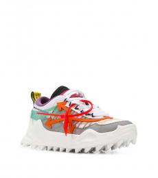 Off-White Multicolor Leather Sneakers