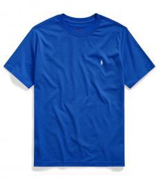 Ralph Lauren Boys Travel Blue Crewneck T-Shirt