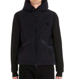 Moncler Navy Blue Toques logo jacket