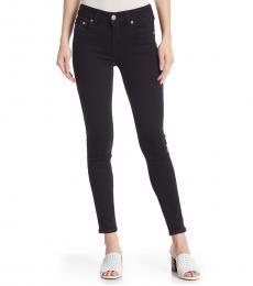 True Religion Black Jennie Curvy Skinny Jeans