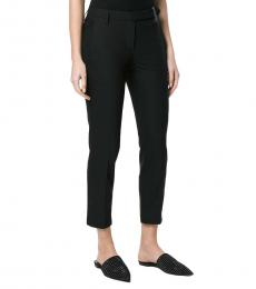 Brunello Cucinelli Black Cotton Trousers