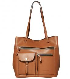 Brown Rossa Large Tote