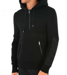 Neil Barrett Black Hooded Sweatshirt