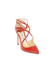 Jimmy Choo Red Lancer Heels