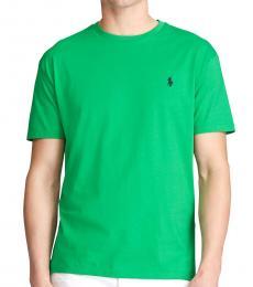 Ralph Lauren Dark Green Classic Crewneck T-Shirt