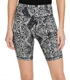 DKNY Black High-Waist Bike Shorts