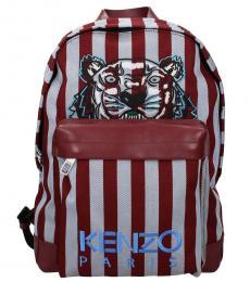 Red Tiger Large Backpack
