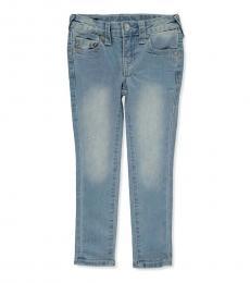 True Religion Little Girls Light Blue Skinny Jeans