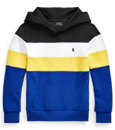 Ralph Lauren Boys Colorblocked Knit Sweatshirt