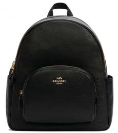 Coach Black Court Large Backpack